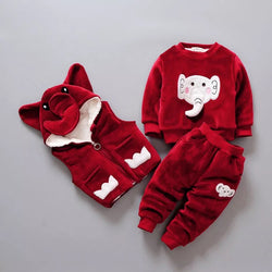 Elephant Fleece Set