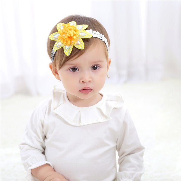 Sunflower Shaped Headband