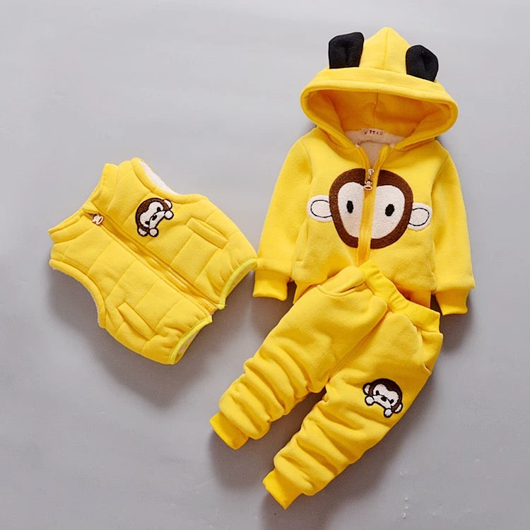 Monkey Winter Set