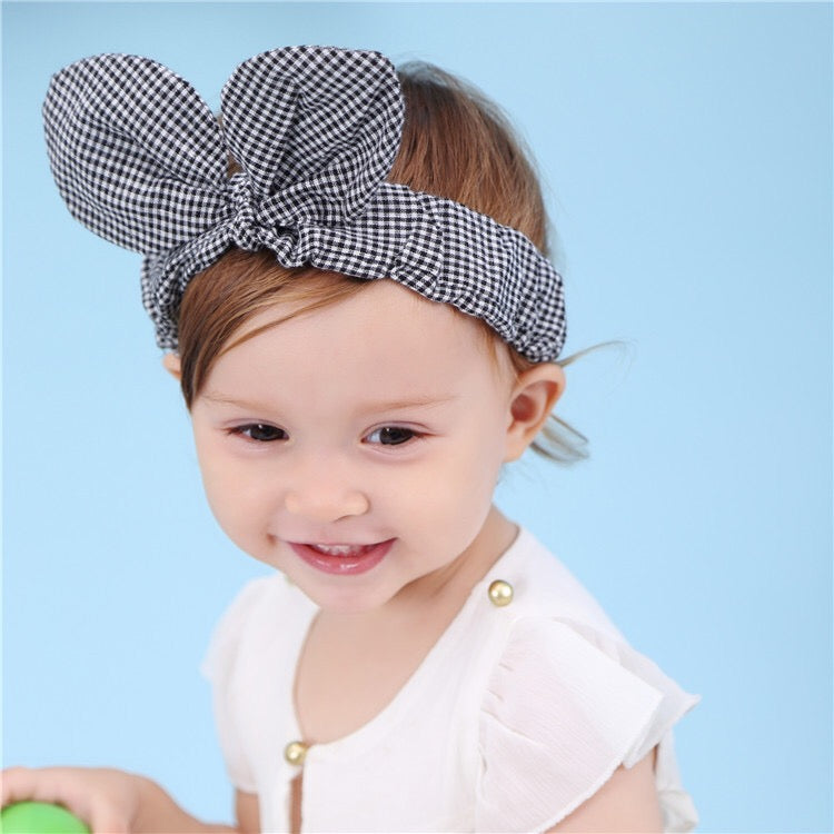 Plaided Bowknot Headband