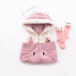Sleeveless Rabbit Jacket