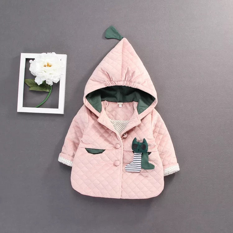 Jacket With Cat Pocket