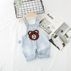 Light Blue Denim Dungaree