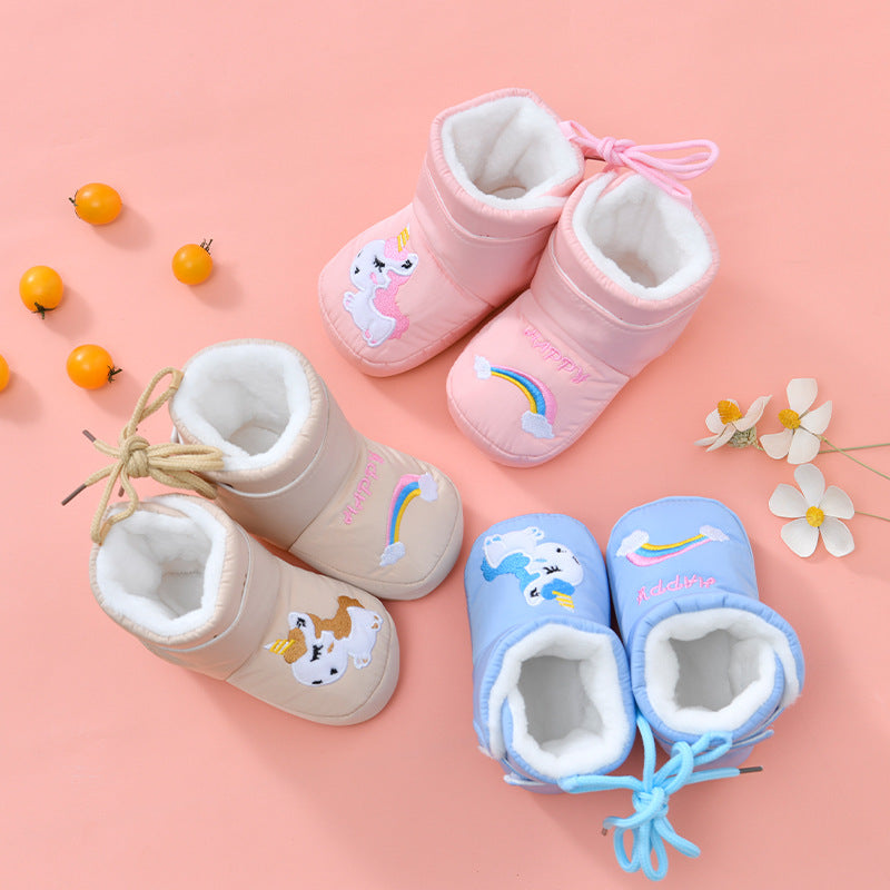 Unicorn Winter Soft Shoes
