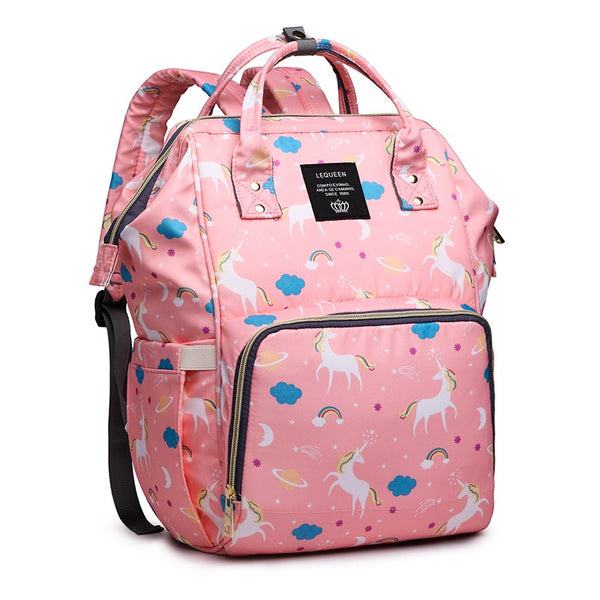 Unicorn Printed Diaper Bags