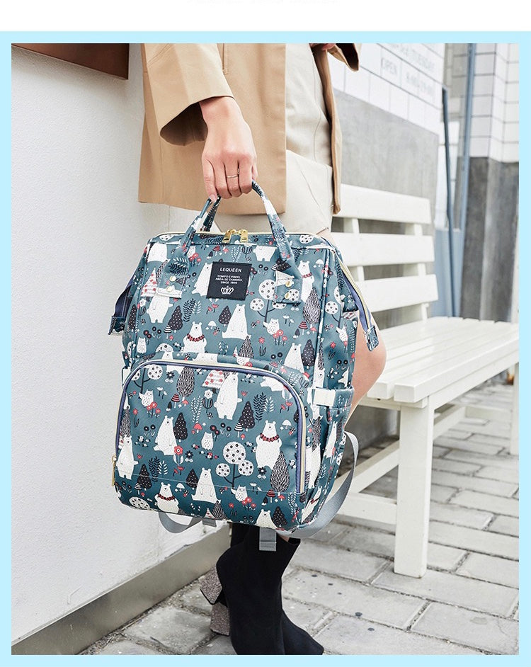 Winter Theme Diaper Bag