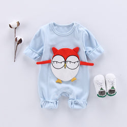 Owl Made Summer Jumpsuit