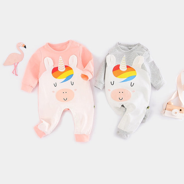 Unicorn Made Romper