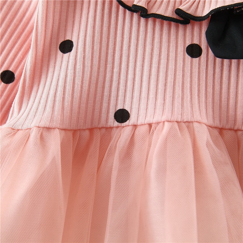 Polka Dot Half Tutu Baby Girl Dress
