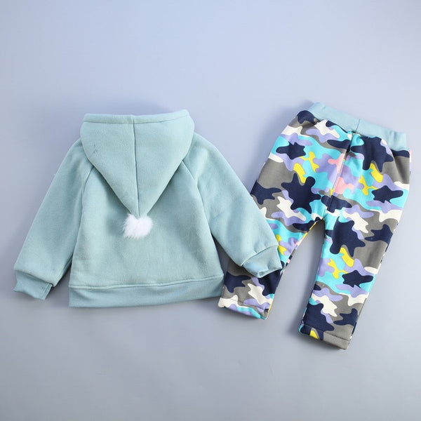 Camouflage Winter Set