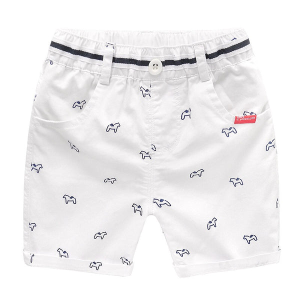 Horse Printed Summer Shorts