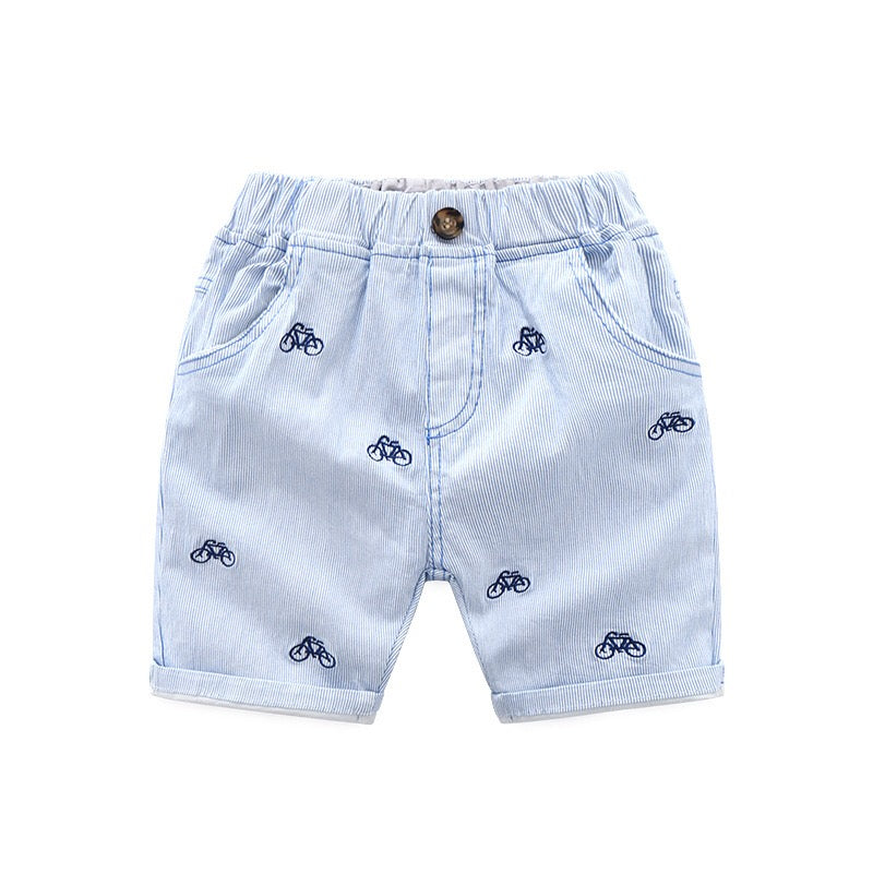 Cycle Printed Summer Shorts