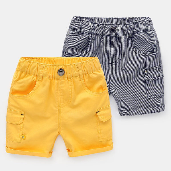 Solid Color Summer Shorts