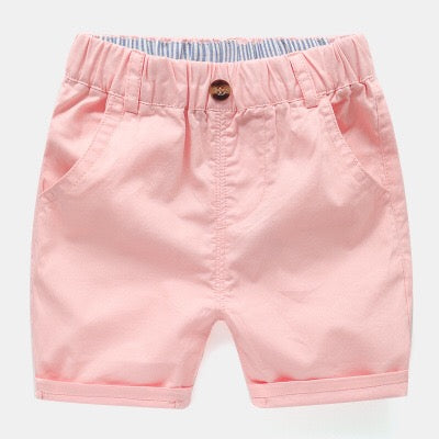 Vibrant Color Summer Shorts
