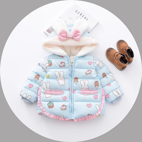 Rabbit Printed Jacket