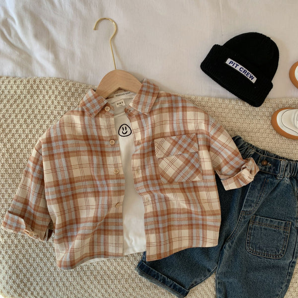Checkered Overshirt