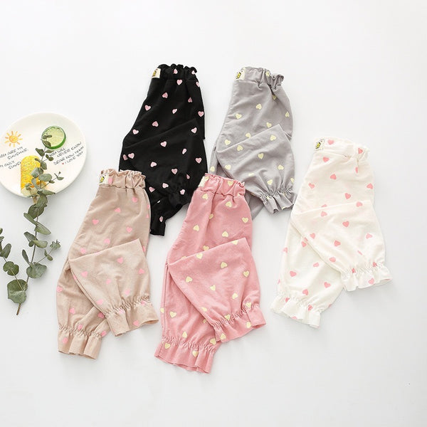Heart Printed Balloon Pants