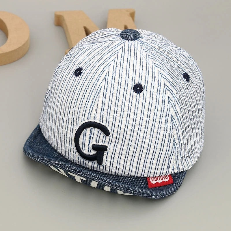 Striped Caps For Kids