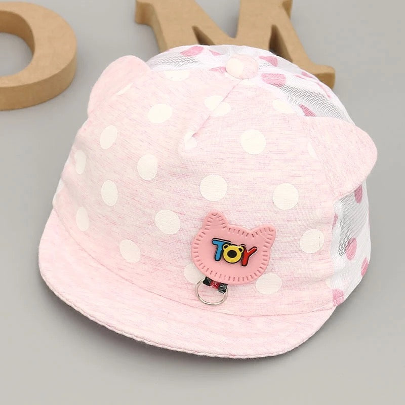 Polka Dotted Cat Caps