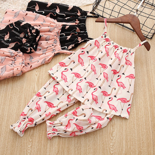 Swan Printed Summer Set