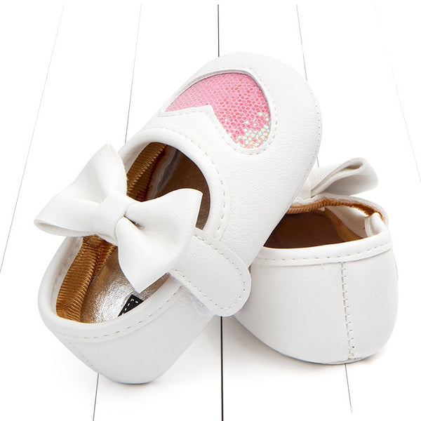 Heart Made Bow Toddler Shoes