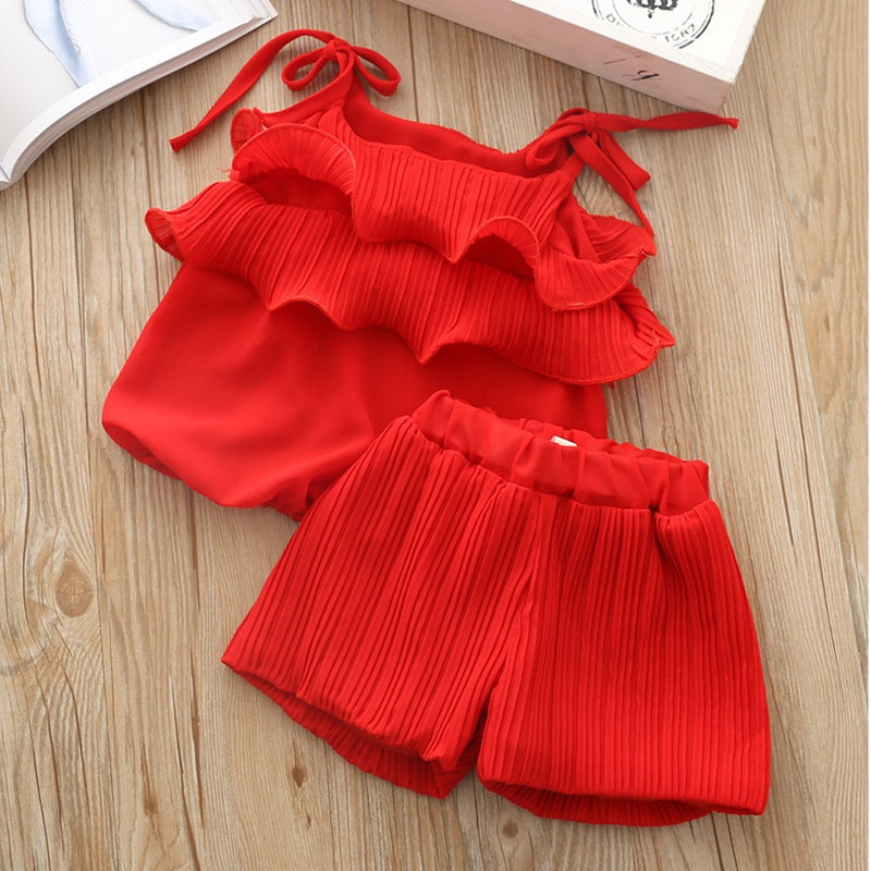 Frill Summer Set