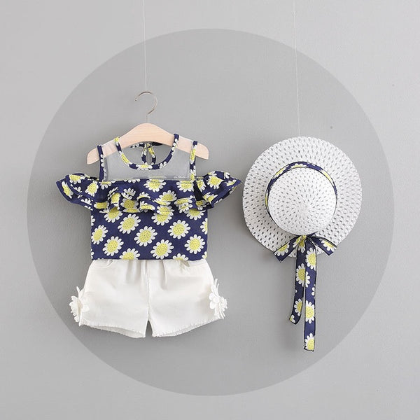 Sunflower Set With Hat