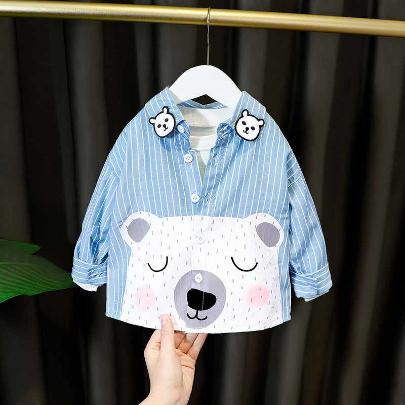 Polar Bear Striped Shirt