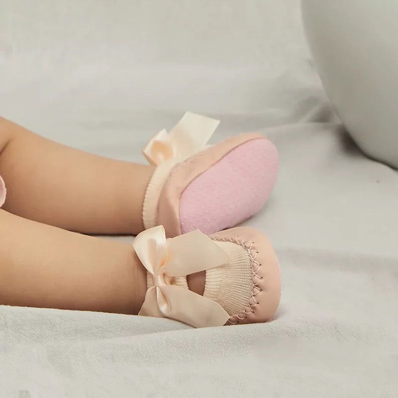 Bow Knot Toddler Slipper Shoes