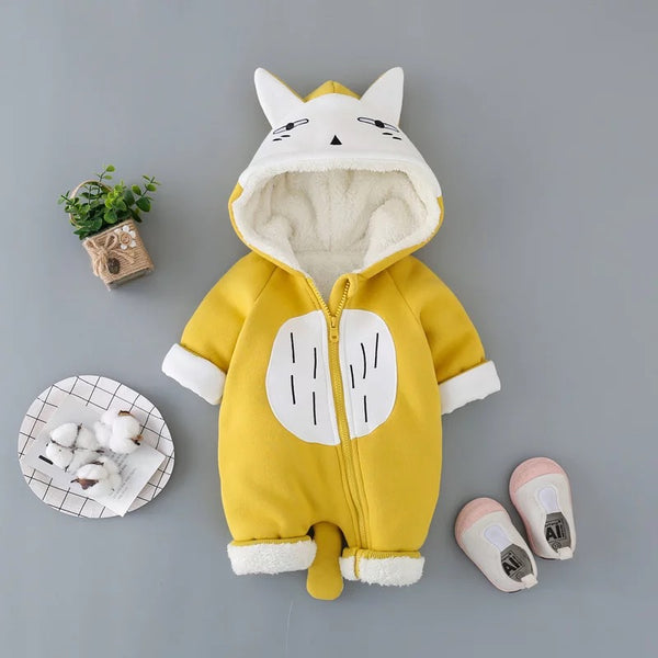 Animal Baby Winter Jumpsuit