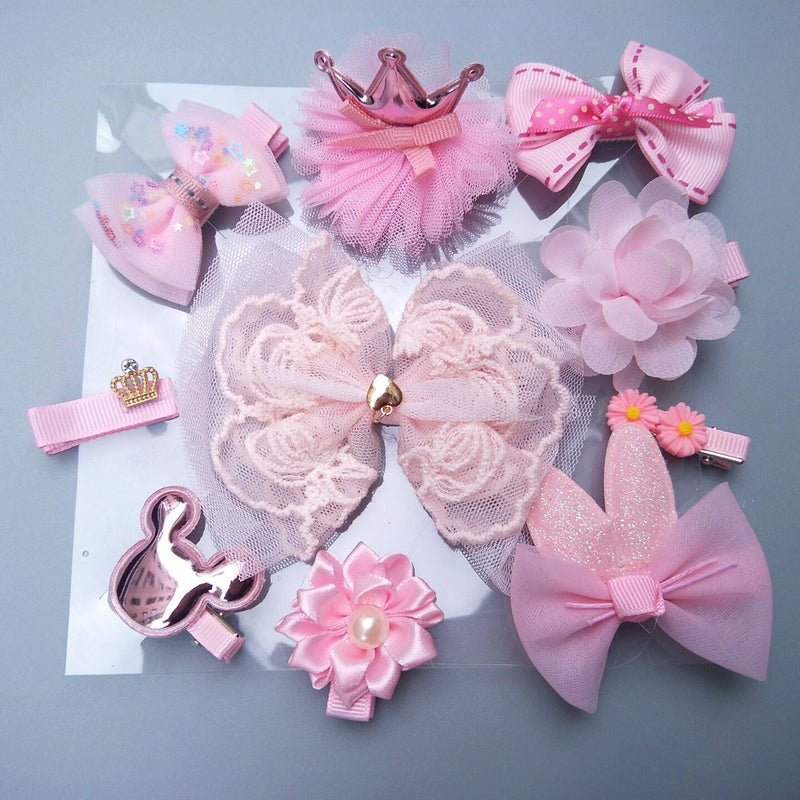 10 hairclips set