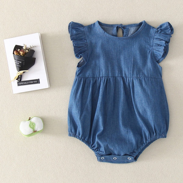 Denim Bodysuit