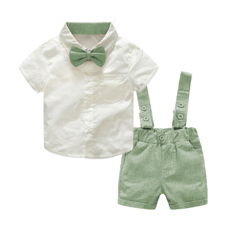 Colorful Suspenders Summer Sets