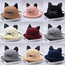 Cute Cat Hat For Kids