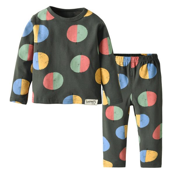 Polka Dot Baby Night Suit