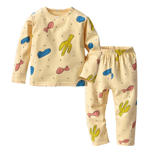 Cactus Printed Night Suit