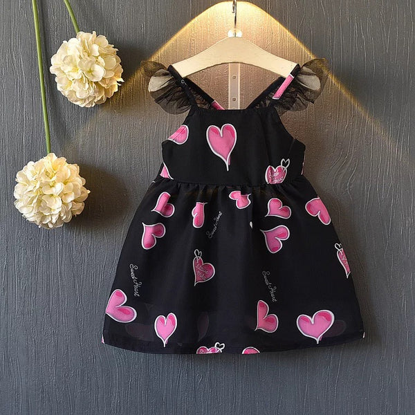 Heart Printed Sundress