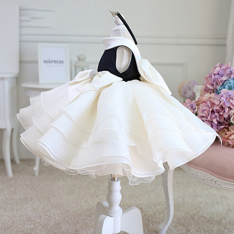 Multi Layered Bow Party Dress