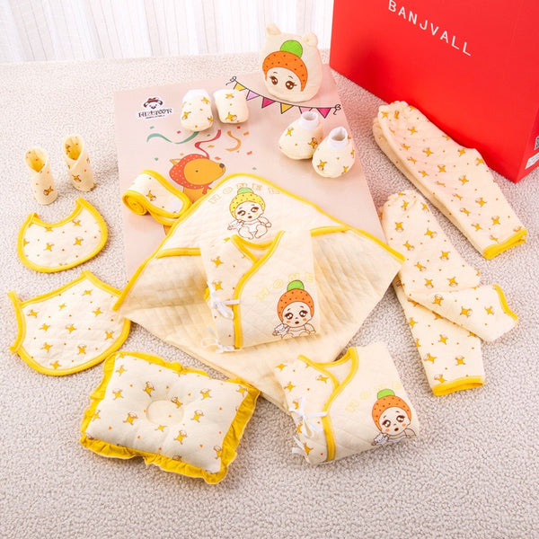 Star Printed Baby Gift Set