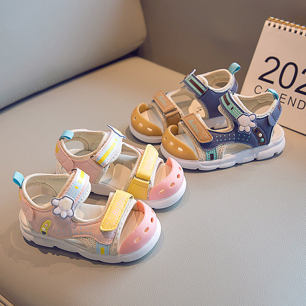 Multi Color Strap Sandals