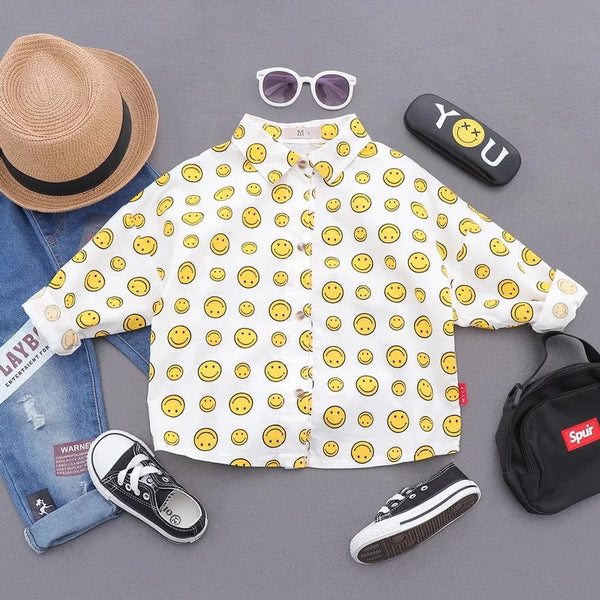 Emoticons Printed Shirt