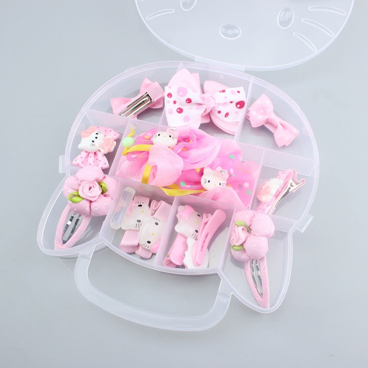 Hello Kitty Set Of Hairpins