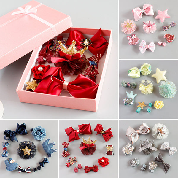10 Pack Hairclips Set