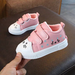 Cat Made Velcro Sneakers