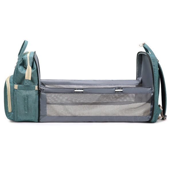 Diaper Bag With Baby Bed