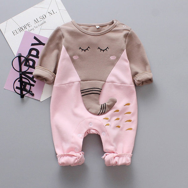 Elephant Made Full Sleeves Bodysuit