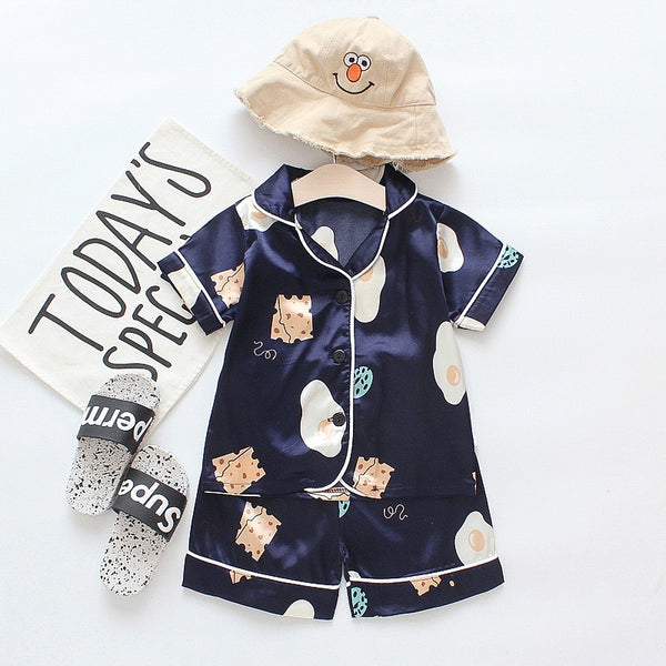 Printed Mini Night Suit