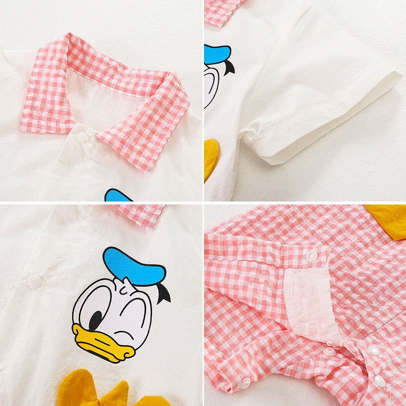Donald Duck Rompers
