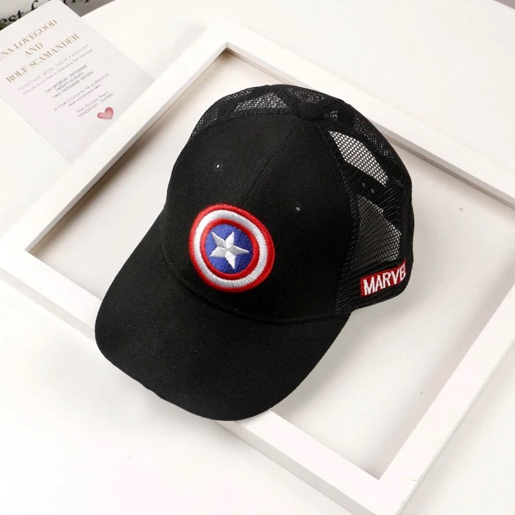 Captain America Baby Caps