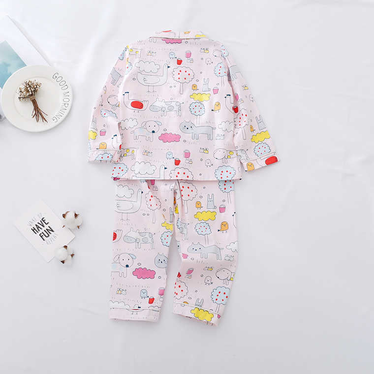 Printed Night Suit For Kids
